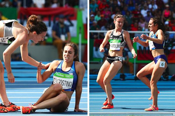 """Olimpíadas: """"Deus preparou meu coração"""", diz atleta que ajudou adversária a se levantar após queda"""