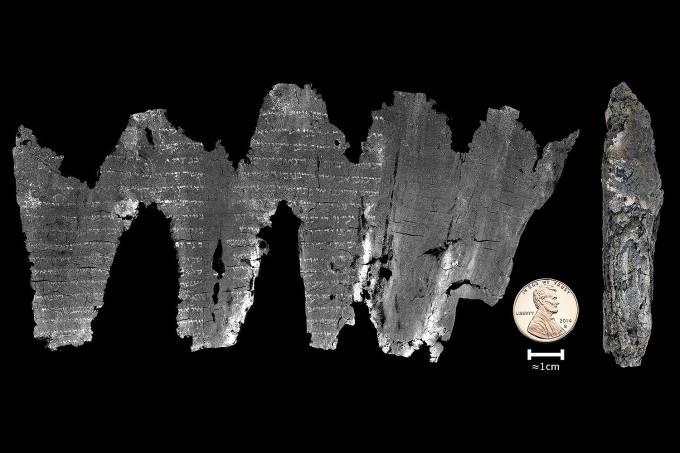 Encontrado em pergaminho um dos primeiros manuscritos da Bíblia
