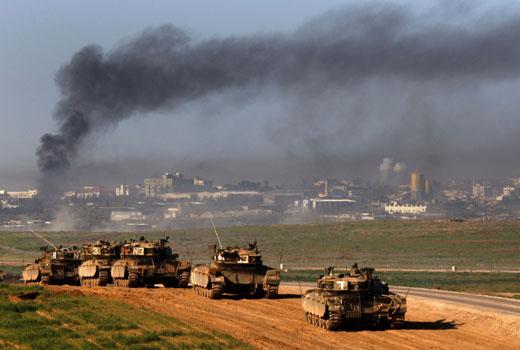 Israel ataca forças sírias em Golã depois da queda de projétil