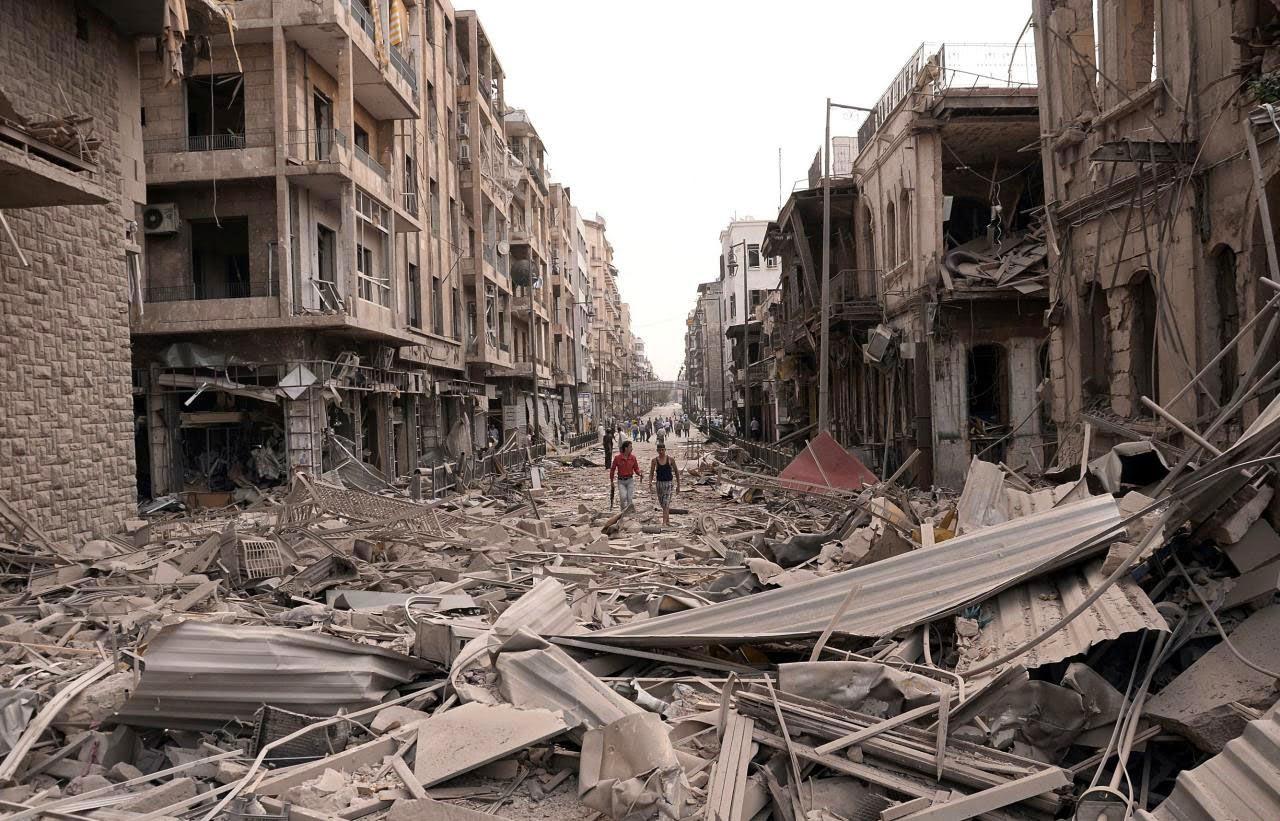 Bombardeio na Síria destrói 20 igrejas.