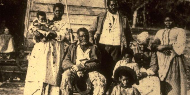 familia de escravos usa