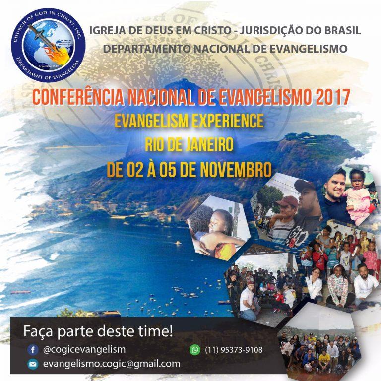 CONFERENCIA NACIONAL DE EVANGELISMO 2017