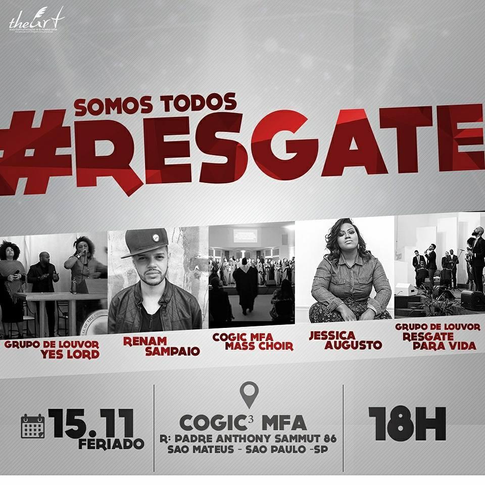 SOMOS TODOS RESGATE DIA 15/11/2017