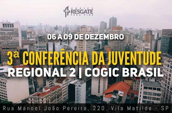 2° Regional COGIC Brasil realiza a 3° Conferencia da Juventude