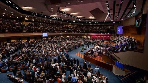 Um novo estudo indica mudanças nas maiores igrejas nos Estados Unidos