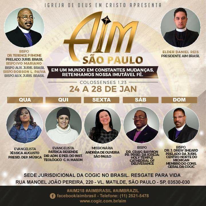 AIM COGIC BRASIL 2018