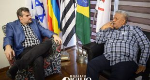 BISPO IVO MARIANO EM VISITA AO VEREADOR RINALDI DIGILIO PORTALCOGICBRASIL