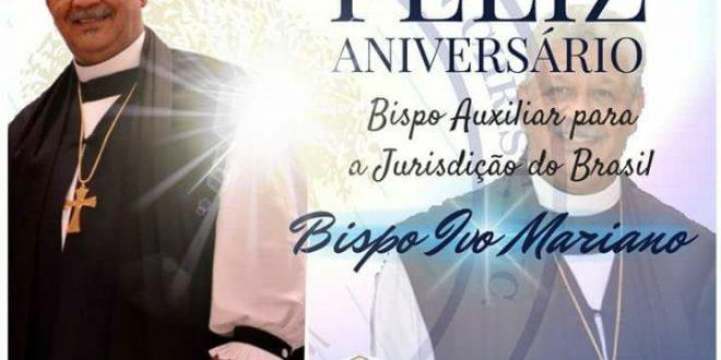 aniversario bispo ivo mariano