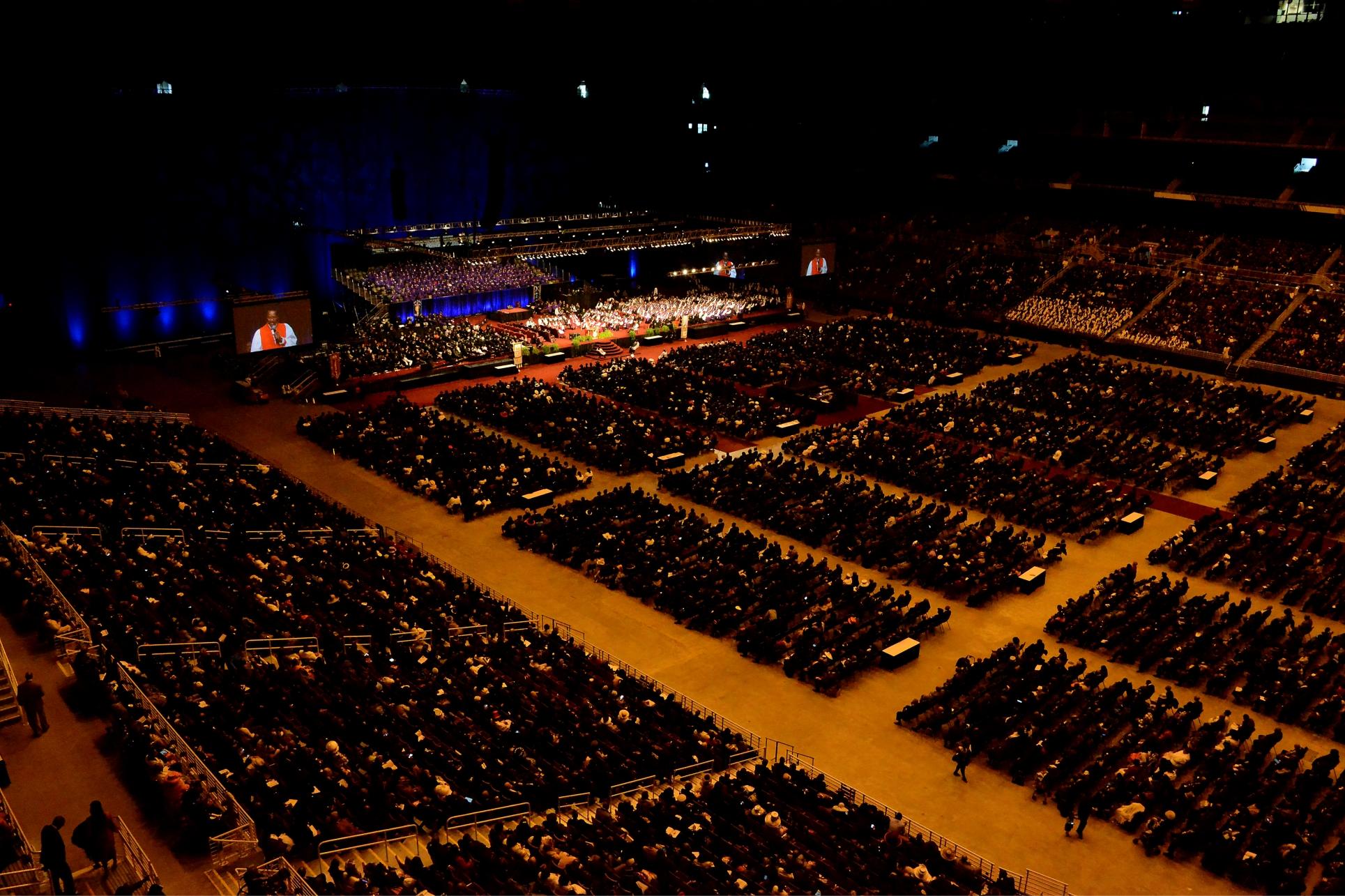 Visão do  Bispo Presidente para a COGIC impactar os EUA e o mundo inteiro é emocionante!
