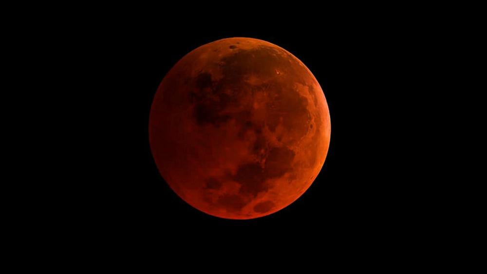 A mais longa lua do sangue do século
