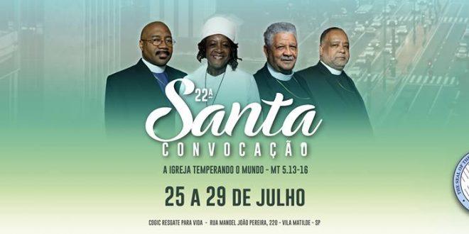 22 santa convocação brasil