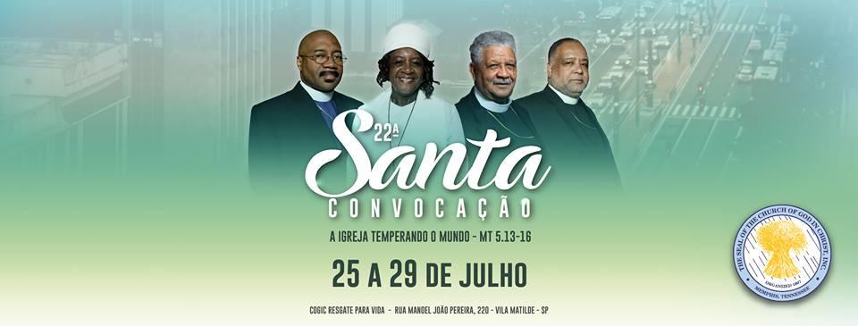 22ª SANTA CONVOCAÇÃO COGIC BRASIL