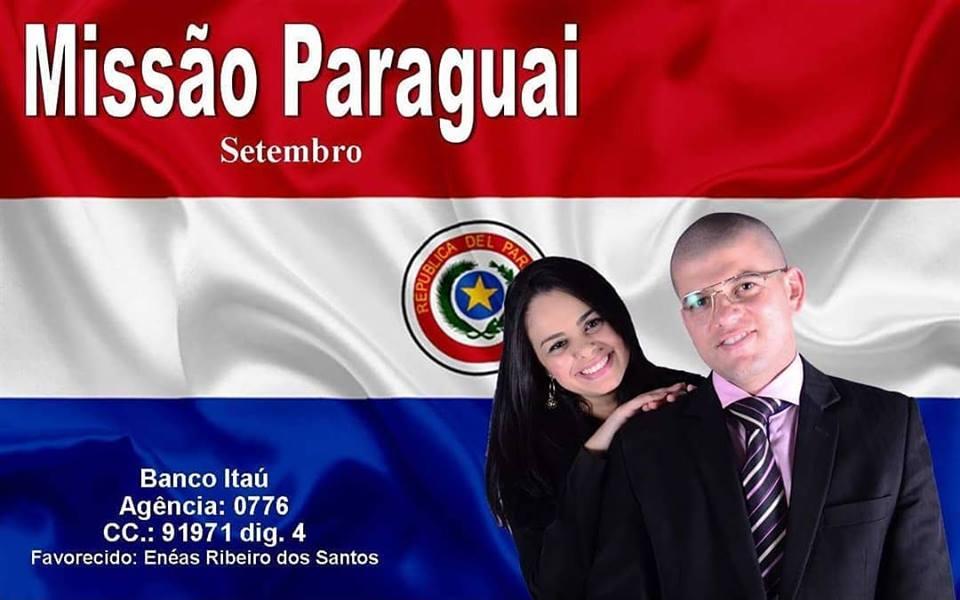 Viagem evangelista para o Paraguaio Pr. Enéas Ribeiro