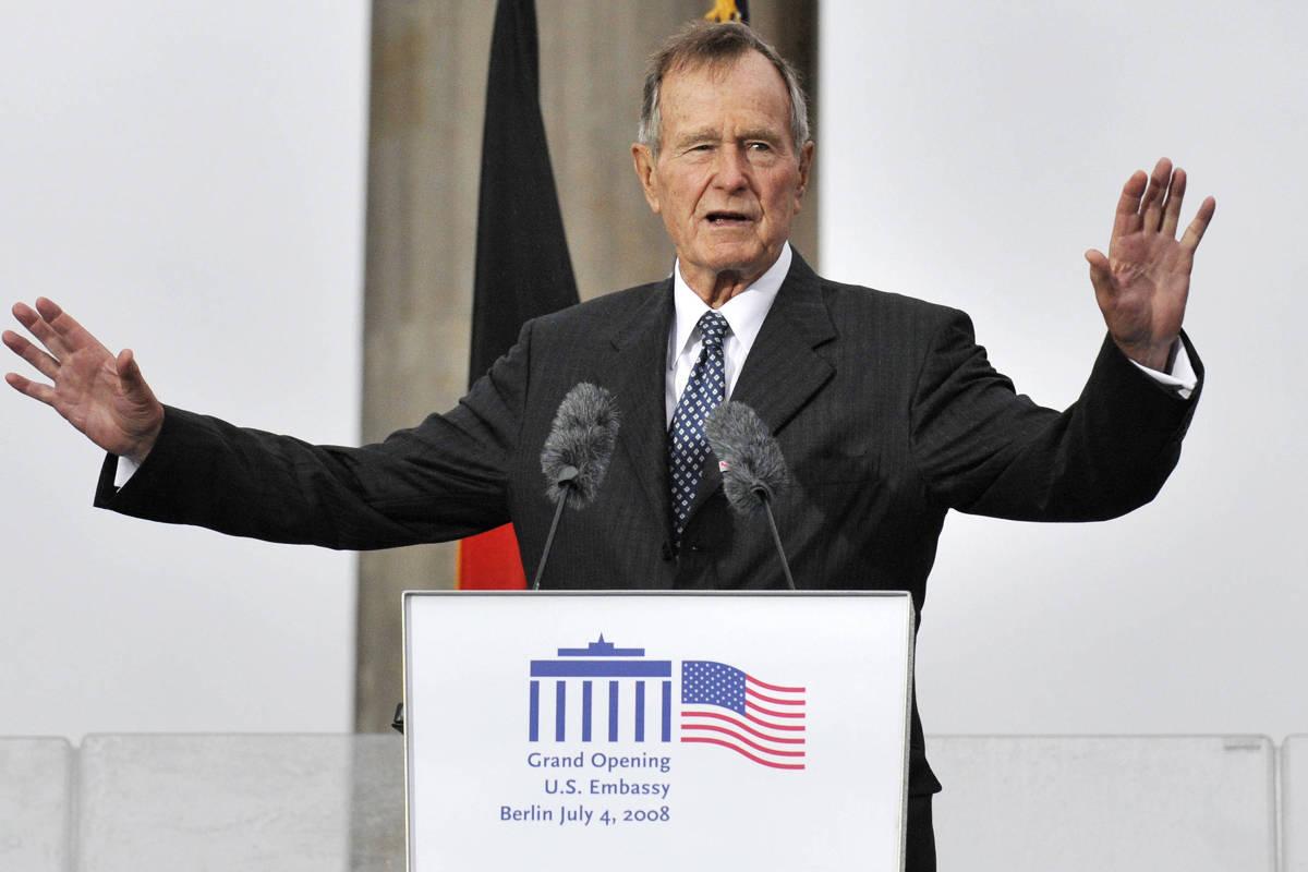 Morre ex-presidente dos Estados Unidos George H. W. Bush